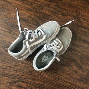 Grey Old Skool Vans!!